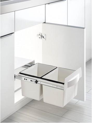 Thùng rác 2 ngăn âm tủ bếp
