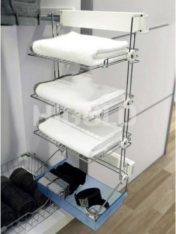 Kệ khăn - giày 3 tầng giảm chấn