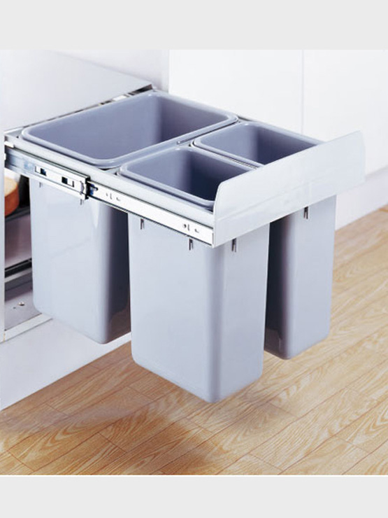 Thùng rác cao cấp 3 ngăn