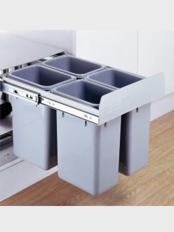 Thùng rác cao cấp 4 ngăn